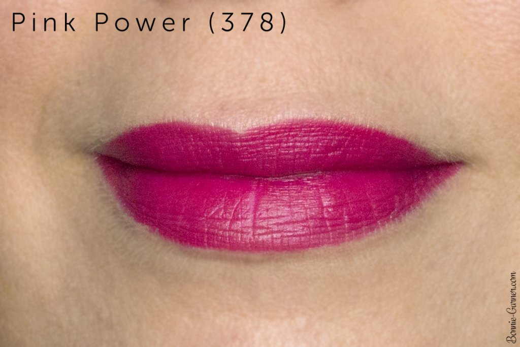 Lancôme Matte Shaker liquid lipsticks: Pink Power 378