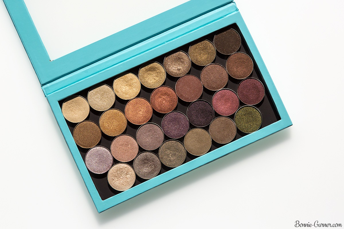 Makeup Geek eyeshadows satin finish