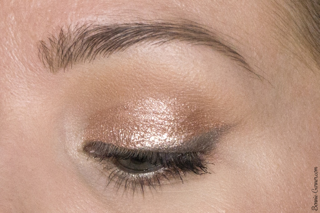 Stila Magnificent Metals Glitter & Glow Liquid Eye Shadow: Rose Gold Retro