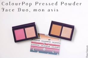 ColourPop Pressed Powder Face Duo, mon avis