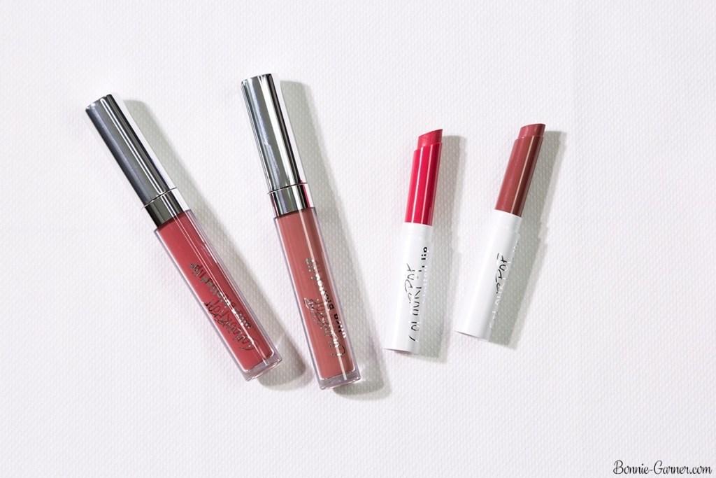 ColourPop Blotted Lips: On A Stick, Drip; Ultra Blotted Lips: Zuma, Doozy
