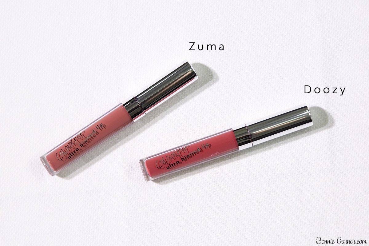 ColourPop Ultra Blotted Lips: Zuma, Doozy
