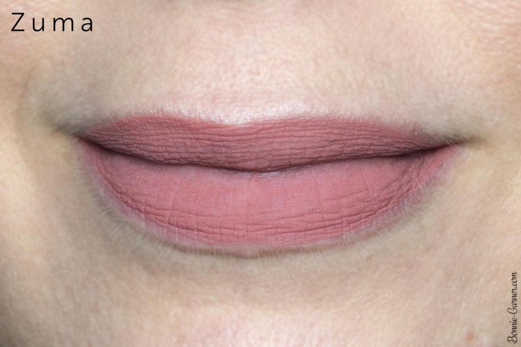 ColourPop Ultra Blotted Lips: Zuma