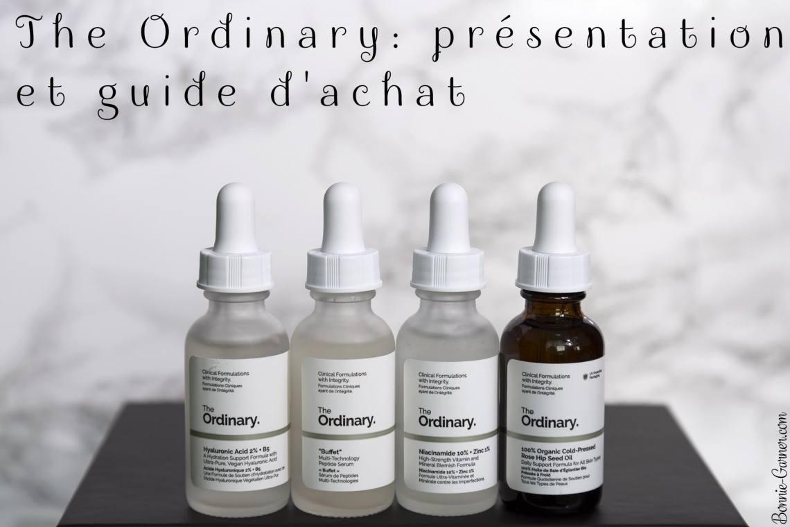 The Ordinary: présentation et guide d'achat