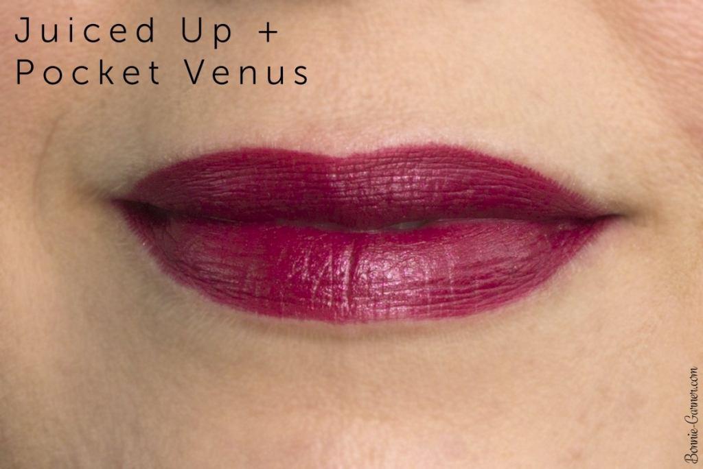 Estée Lauder Pure Color Love lipsticks: 230 Juiced Up, 370 Pocket Venus