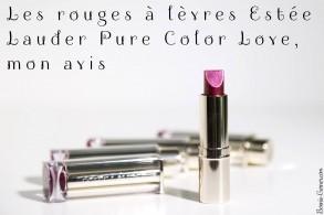 Les rouges à lèvres Estée Lauder Pure Color Love, mon avis