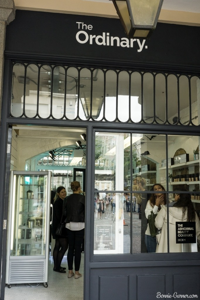 Deciem store London UK Covent Garden