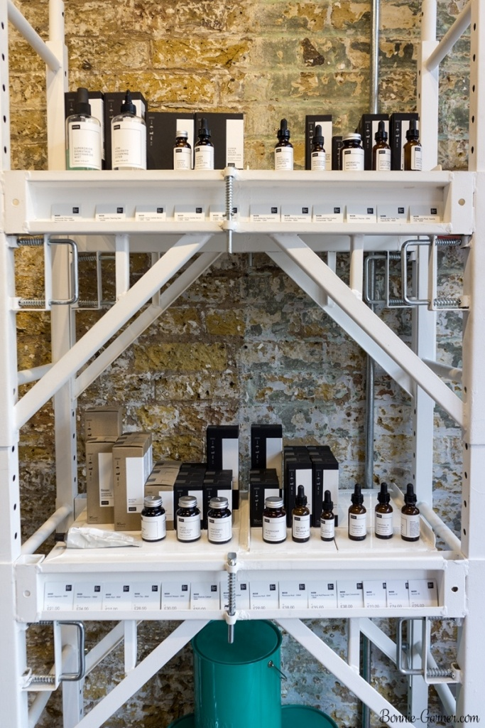 Deciem store London UK Old Spitalfields Market
