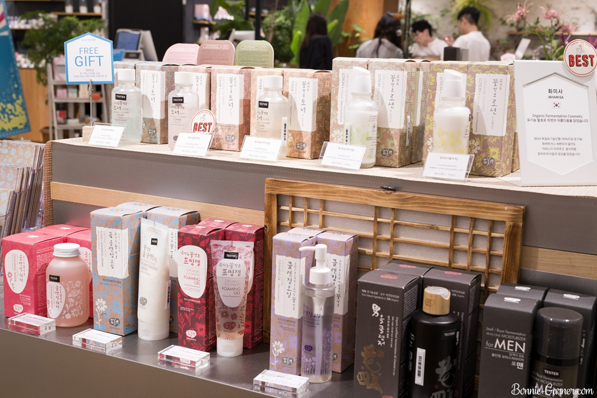 Creemare Beauty concept store Gangnam