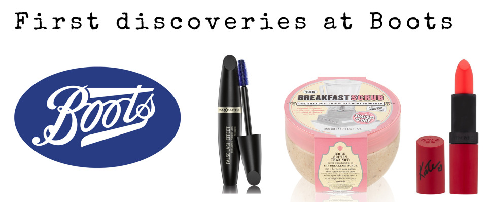 First discoveries at boots