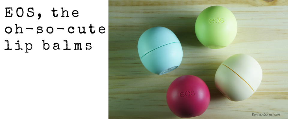 EOS the oh so cute lip balms