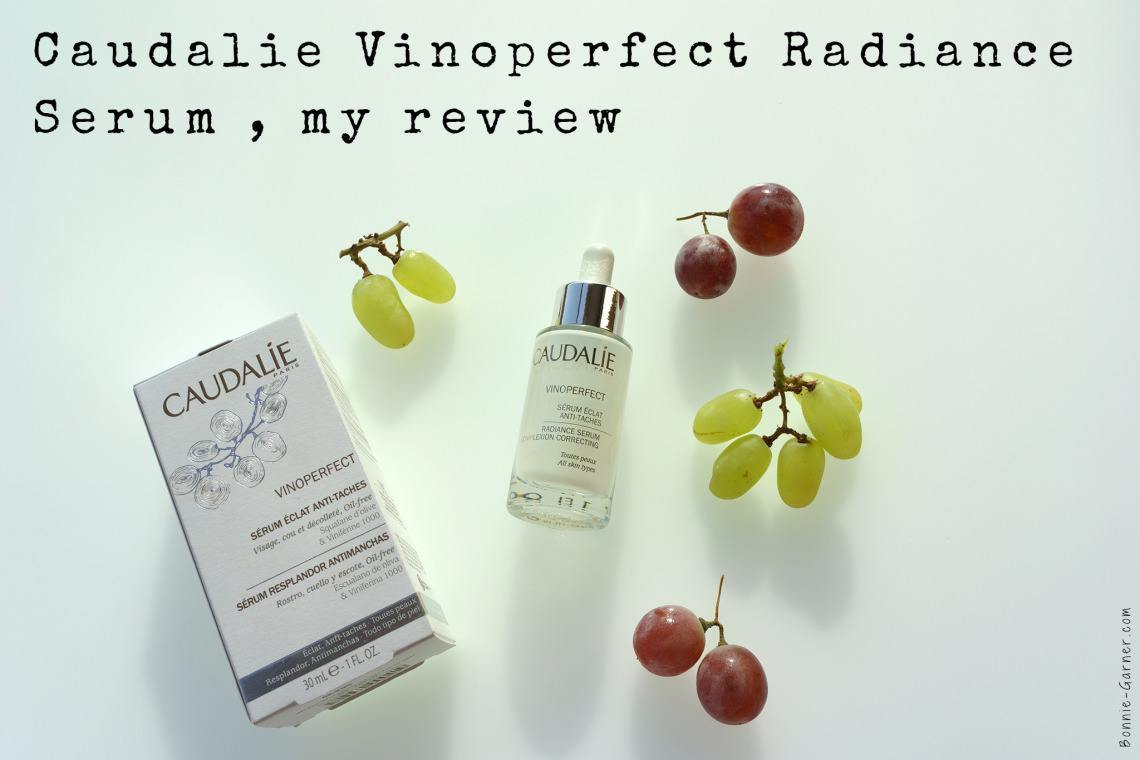 Caudalie Vinoperfect Radiance Serum, my review