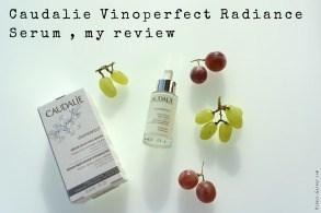 Caudalie Vinoperfect Radiance Serum, my review