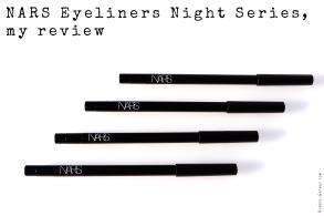 Nars Eyeliners Night Series, my review