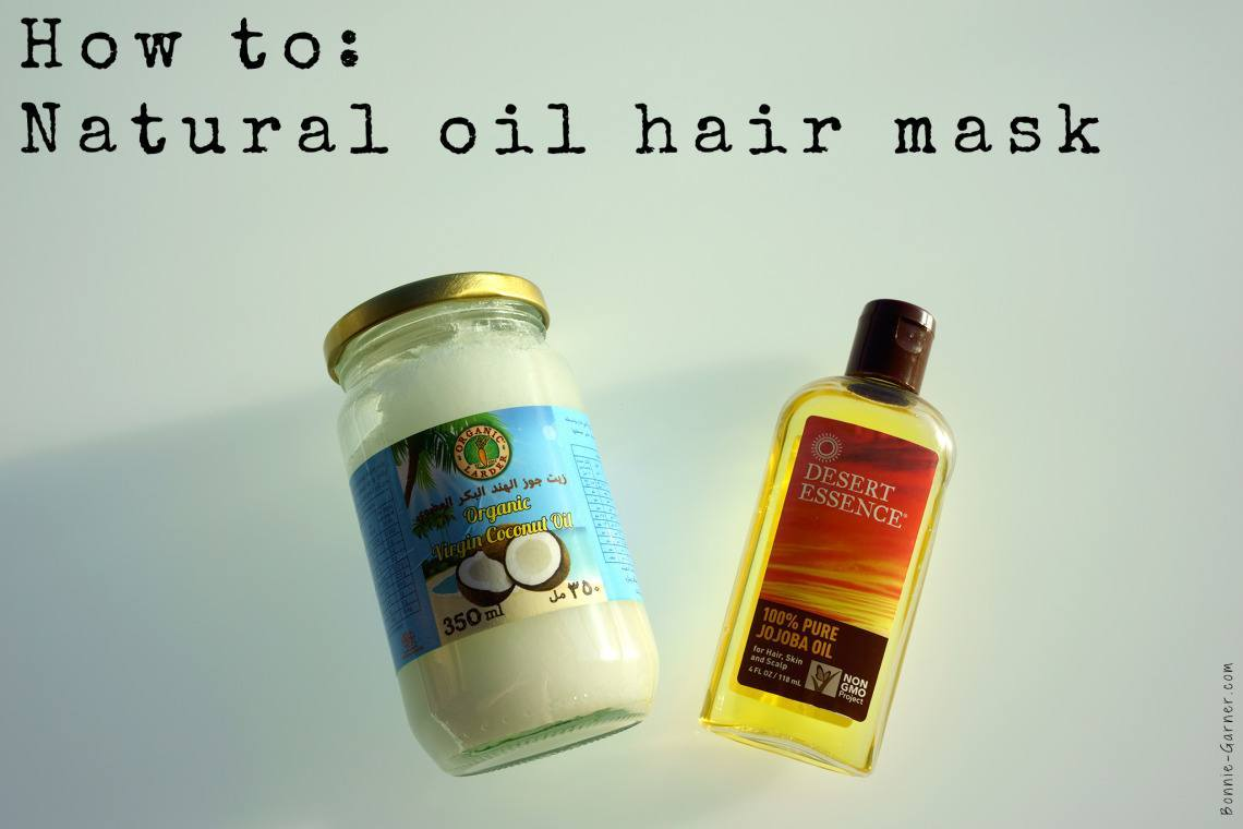 How to: Natural oil hair mask