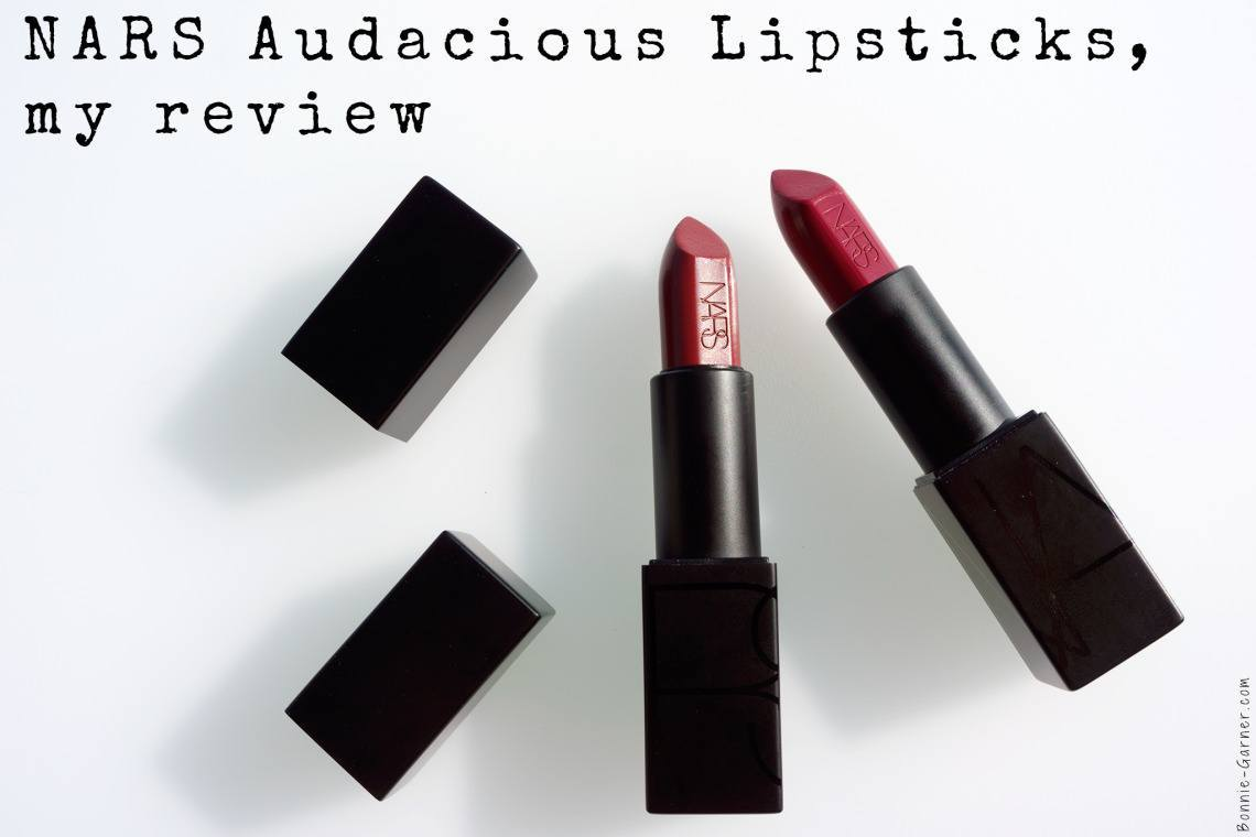 NARS Audacious Lipsticks, my review