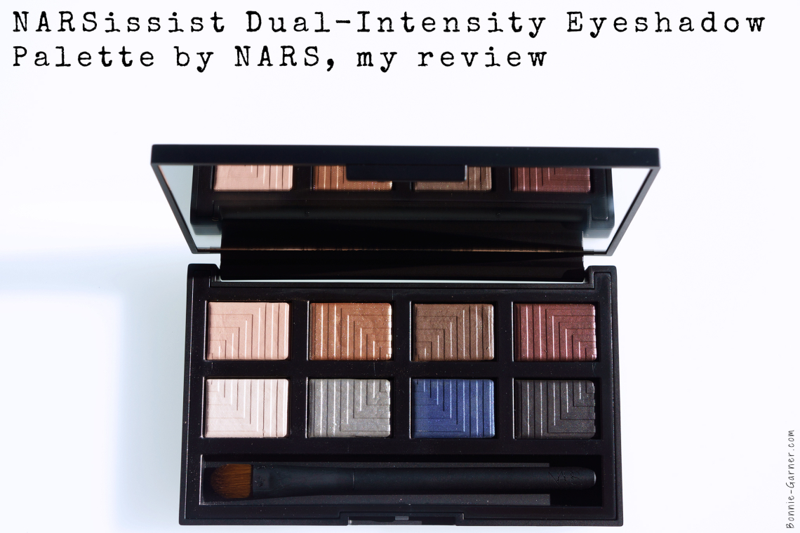 NARSissist Dual-Intensity Eyeshadow Palette by NARS, my review