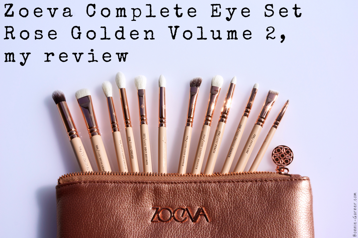 ZOEVA Rose Golden Luxury Complete Eye Set Volume 2, my review
