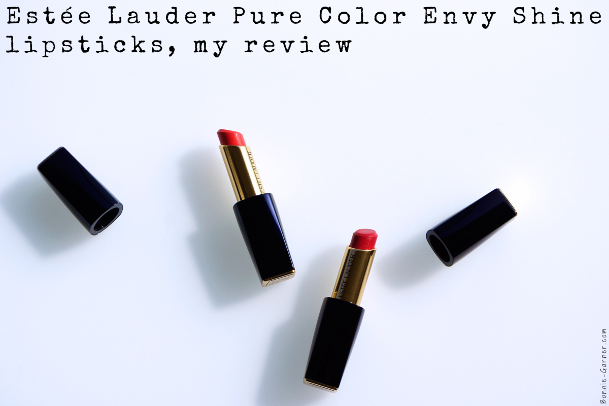 Estée Lauder Pure Color Envy Shine lipstick, my review