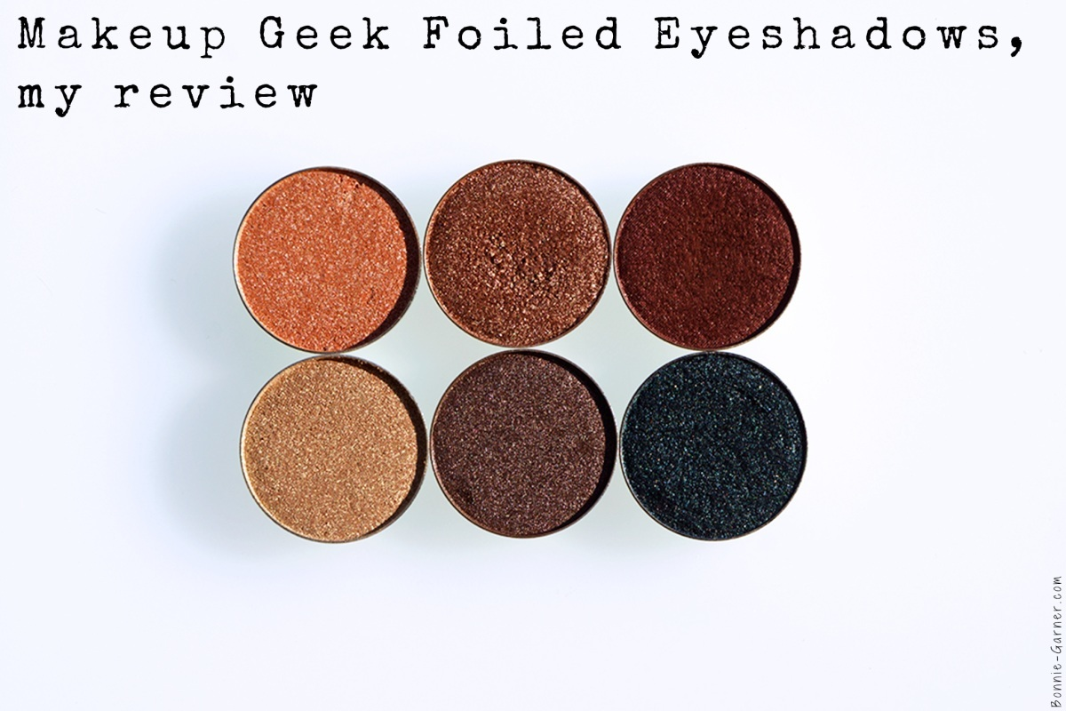 Makeup Geek Foiled eyeshadows In The Spotlight Grandstand Showtime Magic Act Mesmerized Houdini
