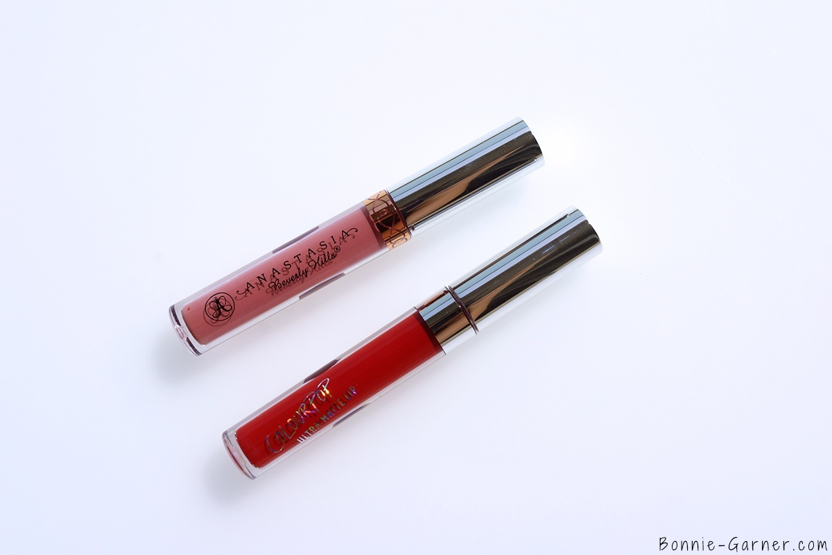 ColourPop Ultra Matte Lip Succulent & Anastasia Beverly Hills Liquid Lipstick Lovely