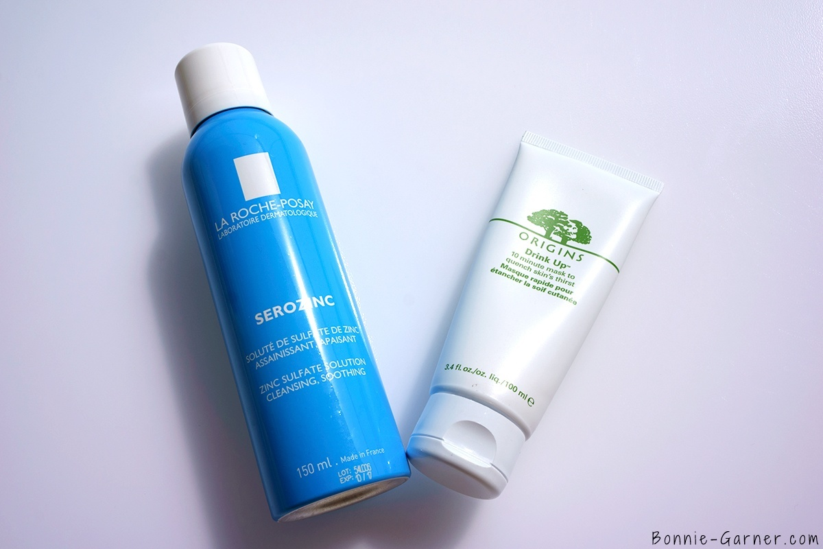 How to determinate your skin type? La Roche Posay Serozinc Origins Drink Up