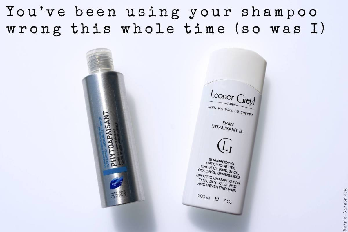 You've been using your shampoo wrong this whole time (so was I)