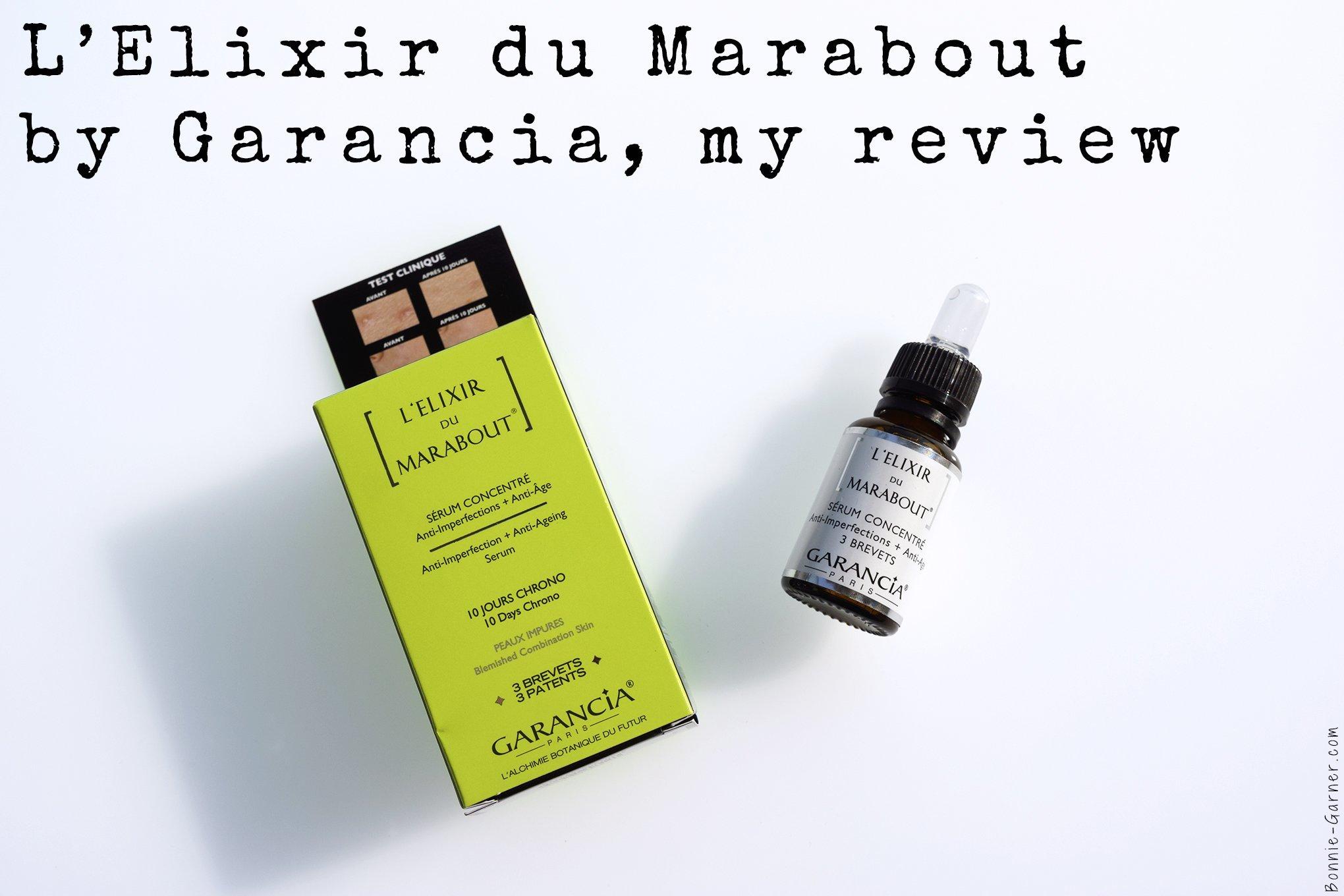 L'Elixir du Marabout by Garancia, my review