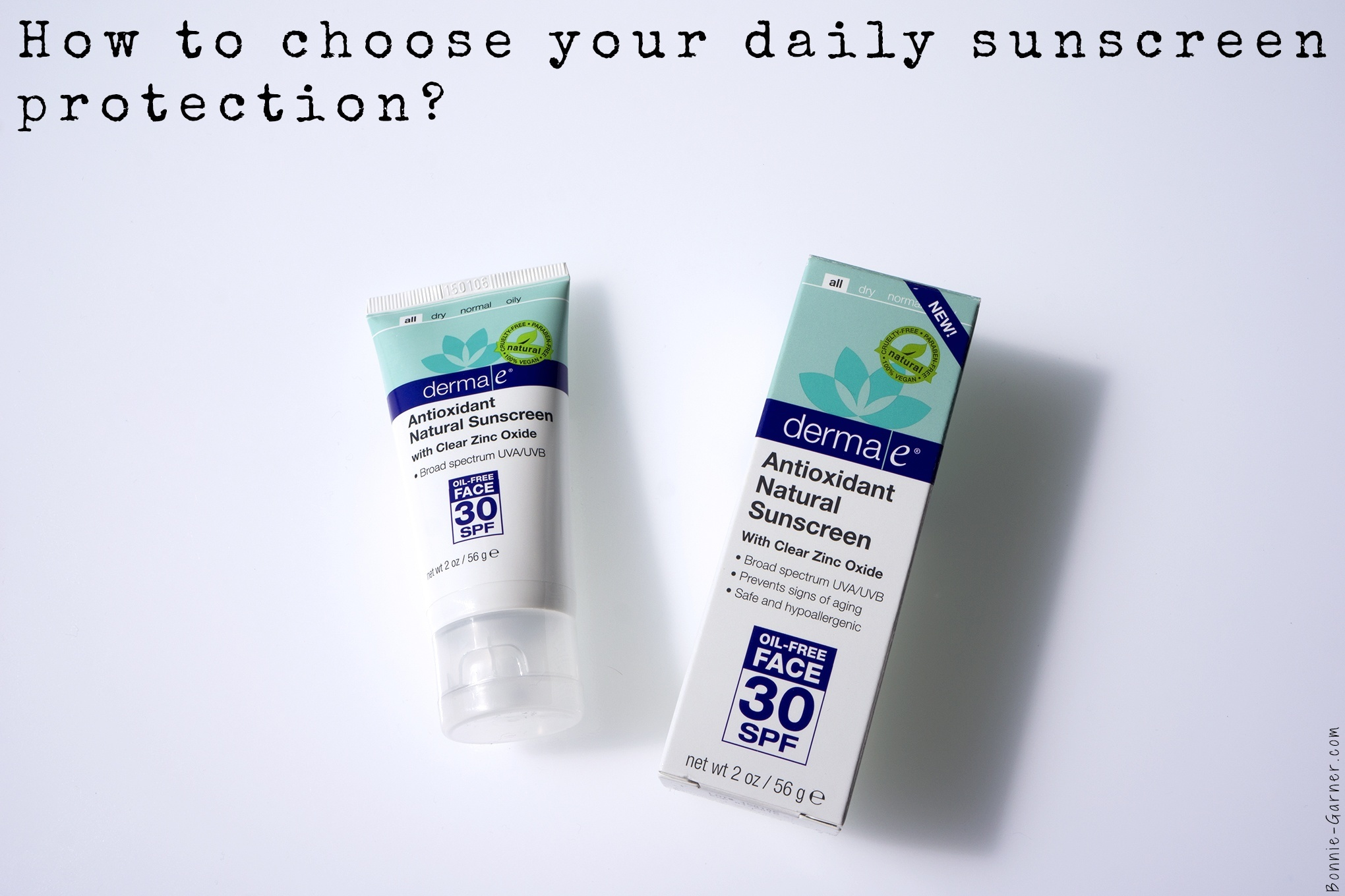 How to choose your daily sunscreen protection?