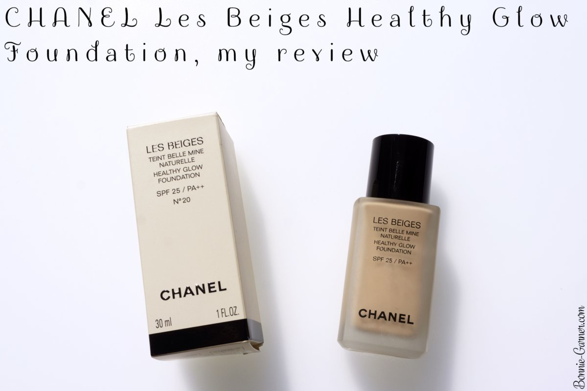 CHANEL Les Beiges Healthy Glow Foundation, my review