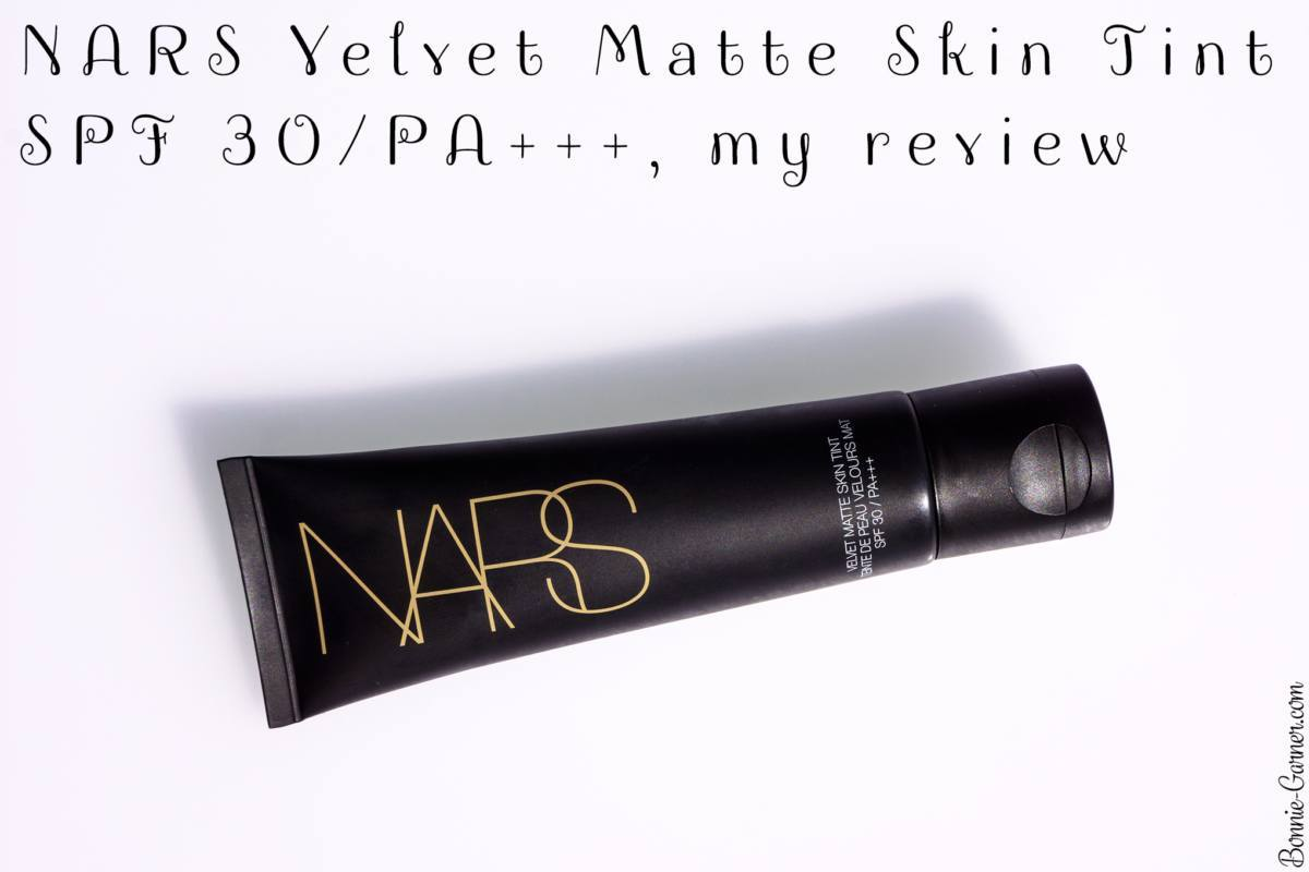 NARS Velvet Matte Skin Tint SPF 30/PA+++, my review