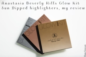 Anastasia Beverly Hills Glow Kit Sun Dipped, my review