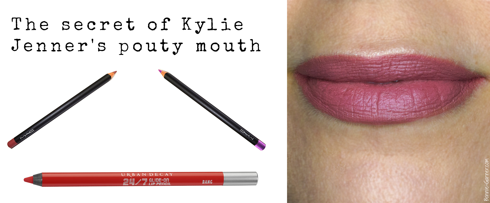 The secret of Kylie Jenner's pouty mouth