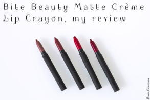Bite Beauty Matte Crème Lip Crayon, my review