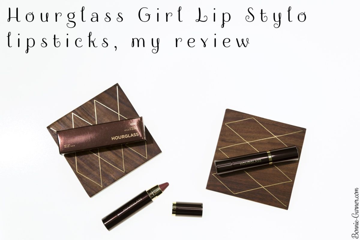 Hourglass Girl Lip Stylo lipsticks, my review