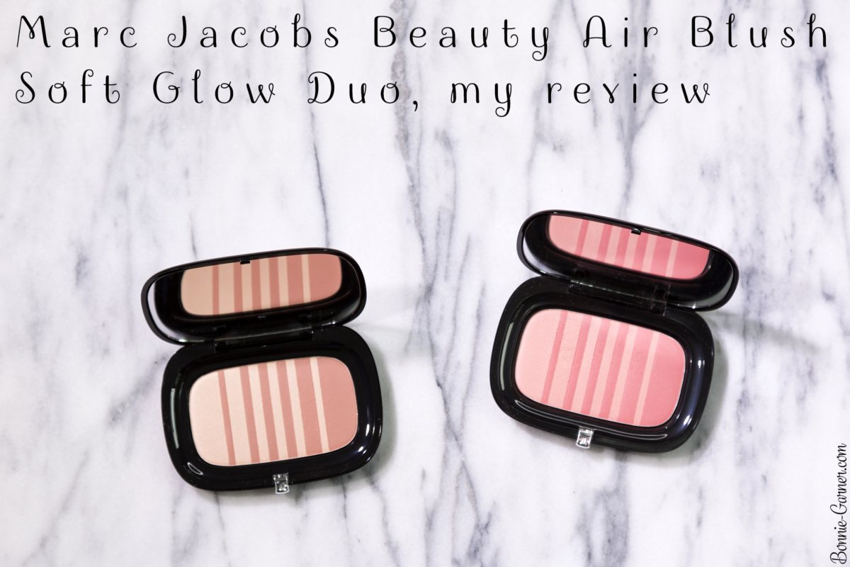 Marc Jacobs Beauty Air Blush Soft Glow Duo, my review