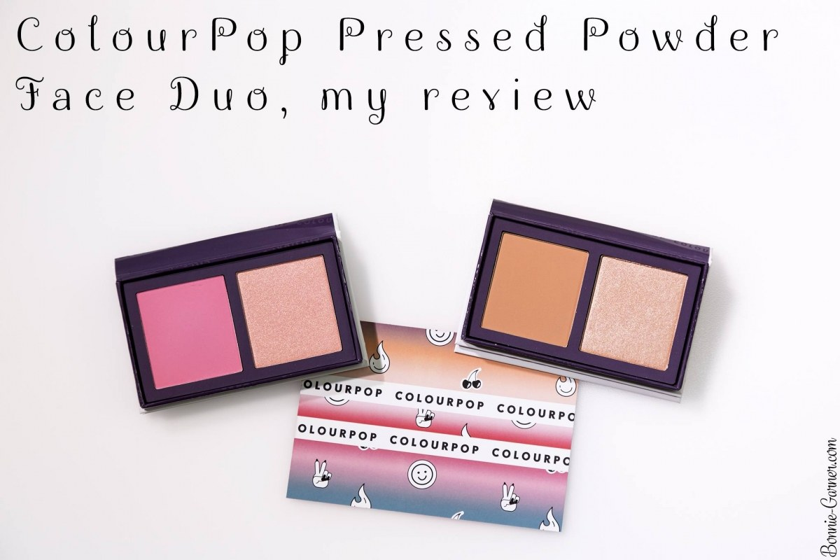ColourPop Pressed Powder Face Duo, my review