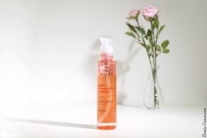 Nuxe Micellar Cleansing Oil, my review