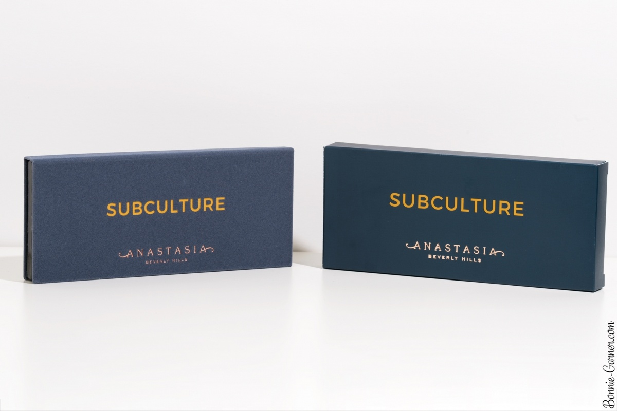 Anastasia Beverly Hills Subculture eyeshadow palette, my review